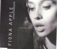 Shadowboxer single by Fiona Apple Vintage Vinyl Records, My Spirit Animal, World Music, Custom Cards, House Music, Pop, Music Artists, Apple, Album