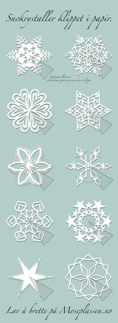 Paper snowflakes and other kirigami patterns. by carlene Paper snowflakes and other kirigami patterns. by carlene Kirigami Patterns, Paper Patterns, Paper Snowflake Patterns, Paper Snowflakes, Christmas Snowflakes, Christmas Paper, Christmas Ornaments, Snowflake Diy Paper, Paper Art