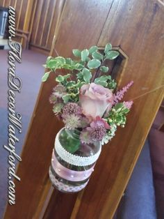 Nicola and Keith returned home from Australia to marry in Nicola's home parish,Dungarvan Co KK. The theme was Vintage, complete with gorg. Decor Wedding, Wedding Events, Wedding Decorations, Vintage Inspired, Vintage Style, Vintage Fashion, Church Wedding, Wedding Flowers, Flora