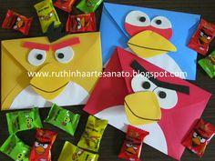 Ruthinha Artesanato: Festa angry birds pai e filho