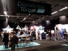 Göteborg, kirjamessut 2014. Gothenburg book fair 2014: Digitala Torget, digital market.