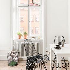 Branco em destaque no décor moderno