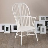 Ercol Chairmaker's Chair - White from The White Company