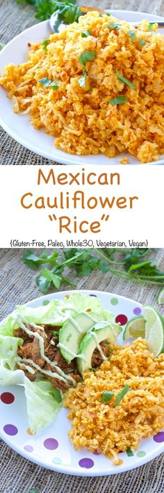 Mexican Cauliflower Rice Pin