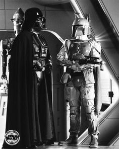Darth Vader and Boba Fett from Star Wars The Empire Strikes Back