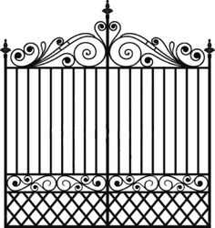 Image result for wrought iron transparent background