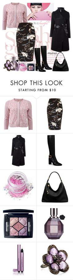 """""""Life is beautiful... :-)"""" by marastyle ❤ liked on Polyvore featuring Giambattista Valli, River Island, Mackage, Roger Vivier, In Your Dreams, Michael Kors, Christian Dior, Viktor & Rolf, Yves Saint Laurent and Bavna"""