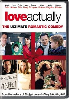Love Actually movie available on Blu-ray, DVD, Digital and On Demand from Universal Pictures Home Entertainment. Watch Love Actually trailers and video and find out where to buy or view the Love Actually movie. Kris Marshall, Love Actually Movie, Richard Curtis, Hugh Grant, Movies Worth Watching, Liam Neeson, Chick Flicks, Romantic Movies, Christmas Movies