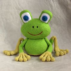 knitting pattern for queen knitting patterns nightmare before christmas knitting pattern for infinity scarf on straight needles Crochet Frog, Crochet Amigurumi, Knit Or Crochet, Amigurumi Patterns, Amigurumi Doll, Crochet For Kids, Crochet Crafts, Crochet Dolls, Yarn Crafts