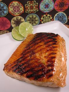 Honey Lime Glazed Salmon Recipe on Yummly. @yummly #recipe