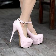 Hot women's fashion platform pumps sexy high heels shoes #pink heels #pink shoes http://www.loveitsomuch.com/