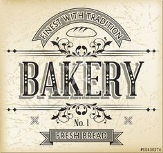 http://nl.dollarphotoclub.com/stock-photo/Bakery Vintage Banner/50436274 Dollar Photo Club miljoenen stockfoto's voor maar $1 per stuk