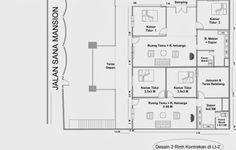 Desain Rumah Kontrakan 2014