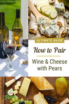 How to add pears to your simple wine and cheese boards! Learn how to pair different varieties of pears with the best wines and cheeses to bring out amazing flavors. Enjoy on a summer evening as an appetizer or make it a dinner grazing board for two. Filling Snacks, Easy Snacks, Appetizers For Party, Appetizer Recipes, Pear Recipes Breakfast, Pears Benefits, Pear Cobbler, Pear Varieties, Pear Dessert