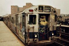 Série fotográfica – Metrô nova-iorquino em 1973  The Hype BR