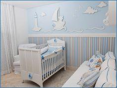 [Marinheiro-Oceano-fundo do mar]-Decoração-de-quartos-de-bebê