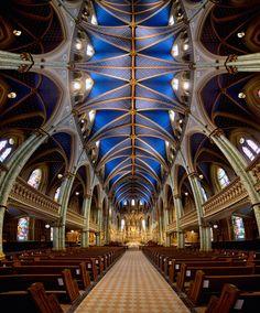Notre Dame Cathedral Basilica (Ottawa) Vertorama by Roland Shainidze on 500px