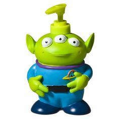 Toy Story Alien Soap Dispenser ( I bought just in case I break the first one. Toy Story Nursery, Toy Story Bedroom, Toy Story Toons, Disney Bathroom, Dorm Bathroom, Disney Rooms, Disney House, Toddler Boy Gifts, Toy Story Alien