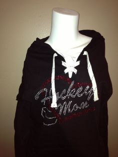 Hockey Mom Hoodie  Xlarge by ILoveMyTeam on Etsy, $39.99