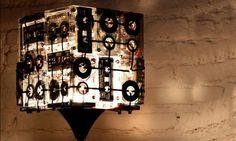 cassette tapes box lamp
