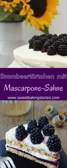 Blackberry Cake with creamy Mascarpone Cream