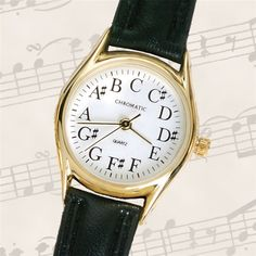 Women's Gold Chromatic Watch