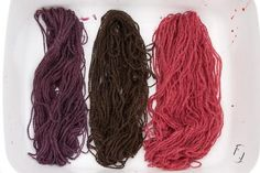 natural dyes - elderberry
