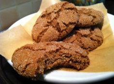 Ginger Cookies- gluten free, soy free, vegan