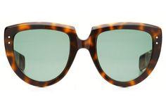93e7d393d4 Oliver Goldsmith Y-Not 1966 Dark Tortoiseshell Popular Sunglasses