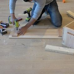 Wood Storage Crates - RYOBI Nation Projects Diy Storage Crate, Storage Shed Organization, Wood Storage, Storage Bins, Homemade Modern, Palette, Plastic Storage, Woodworking Crafts, Wood Projects