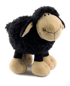 NICI 24693 - Jolly Mäh - Schaf, schwarz, stehend - 25cm Cute Dolls, Teddy Bears, Stuffed Animals, Gnomes, Felting, Desktop, Plush, Toys, Make Art