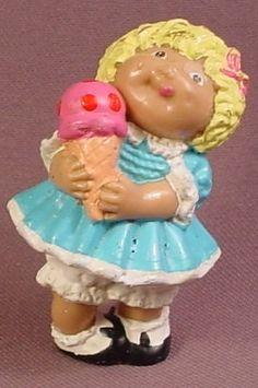 Cabbage Patch Kids 5 cm GELATO mini figura viola 1984