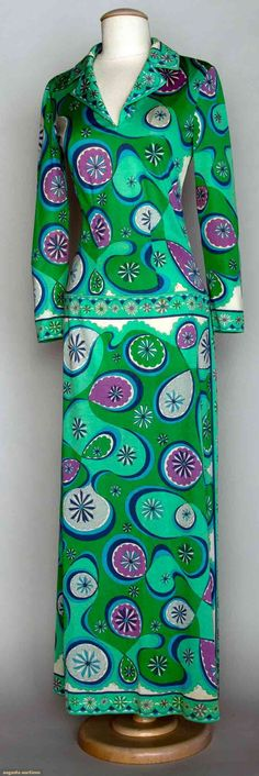 Pucci Cotton Maxi Dress, 1970s, Augusta Auctions, November 13, 2013 - NYC, Lot 198