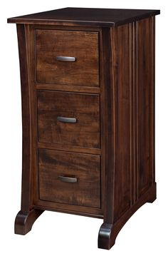 Amish Harmony File Cabinet Choose or 4 drawers for this solid wood filing cabinet. Office Storage, Bedroom Organization, Organization Ideas, Rustic Wood, Rustic Decor, Wood File, Transitional Home Decor, Amish Furniture, Filing Cabinet