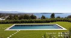 Contemporary Villa with Pool and Panoramic Sea View in Super Cannes | http://www.estatenetfrance.com/