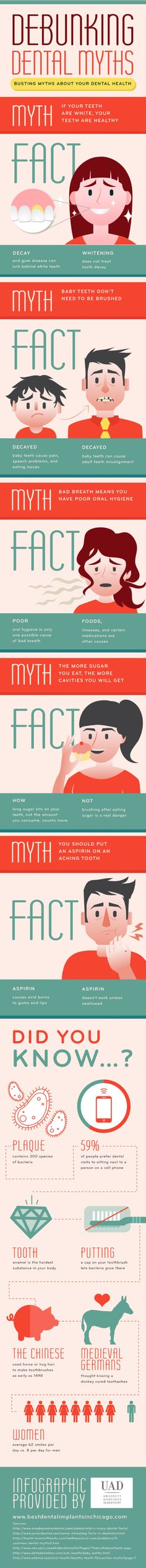 Debunking Dental Myths  Infographic