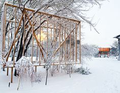 socrates sculpture park folly 2013 - toshihiro oki architect
