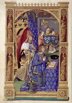 Biblioteca Digital Hispánica - 013-Libro de horas de Carlos VIII Rey de Francia - 1401-1500