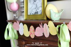 Easter Paper Garland