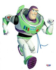 Tim Allen Signed Toy Story Buzz Lightyear Authentic 8X10 Photo #W68755 @ niftywarehouse.com #NiftyWarehouse #Toy #Story #Movie #ToyStory #Pixar