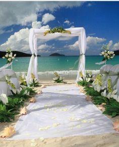 My Simple Beach Wedding Dream