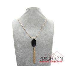 Популярные шарика цепи кисточкой ожерелье для девочек N7-9628-7880