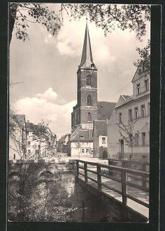 Aschersleben, Apothekengraben (Postkarte)