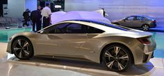 Acura NSX Concept - This would be a bad ass car to have in the garage.