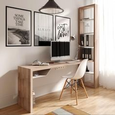 Home Decoration Ideas For Anniversary .Home Decoration Ideas For Anniversary Home Office Setup, Home Office Space, Home Office Design, House Design, Modern Home Interior Design, My New Room, House Rooms, Cheap Home Decor, Living Room Designs
