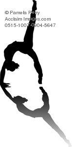 yoga silhouette clip art - Google Search