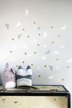Playful Triangles wallstickers | Fabelab