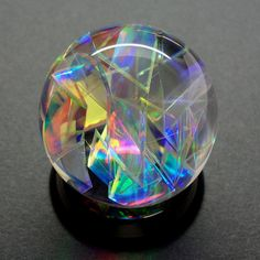Dreamsphere, Colour-changing marble. Hand made sphere, 1 1/2 inch amazing