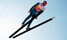 Ski Jumper Eddie The Eagle