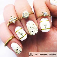 Lacquered Lawyer | Nail Art Blog: Oh Deer